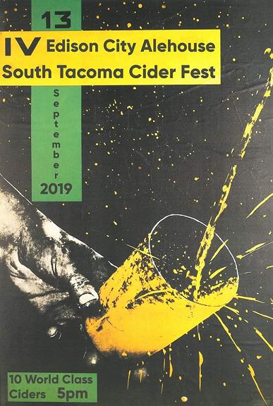 Edison City Alehouse IV South Tacoma Cider Fest Sept 13
