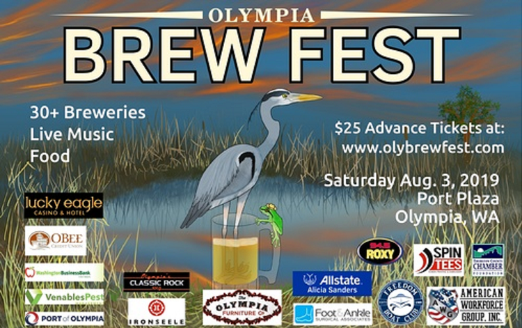 Olympia Brew Fest – Saturday August, 3rd