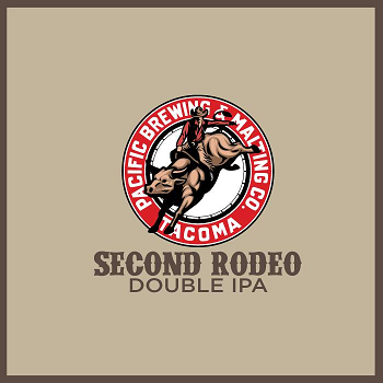 Pacific Brewing & Malting – New Second Rodeo Double IPA