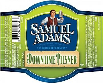 Samuel Adams Releases Downtime Pilsner