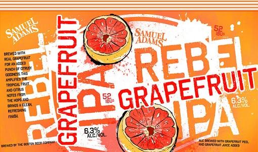 Sam Adams – Rebel Grapefruit IPA