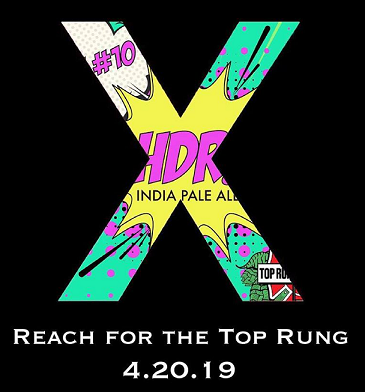 Top Rung Brewing Releases HDR – X