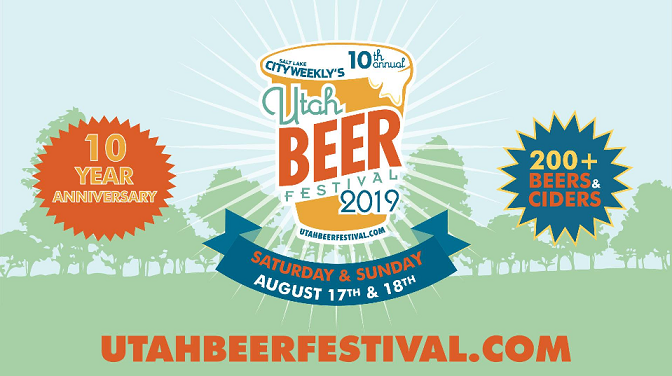 Utah Beer Festival Aug 17-18