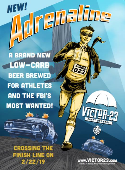 Victor 23 Craft Brewery – Adrenaline Low Carb Ale