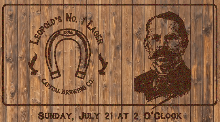 Well 80 Brewing – Leopold's No 1 Lager – Release July 21